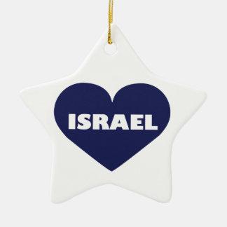 Israel in My Hart Christmas Ornaments