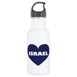 Israel in My Hart Stainless Steel Water Bottle