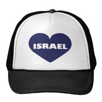 Israel in My Hart Trucker Hat