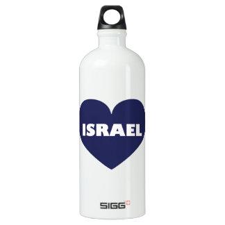 Israel in My Hart Water Bottle