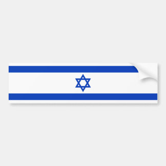 Israel – Israeli Flag Bumper Sticker