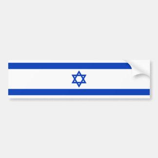Israel – Israeli Flag Car Bumper Sticker