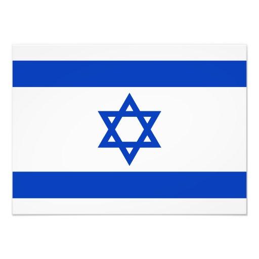 Israel – Israeli Flag Photo Print