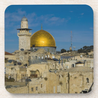 Israel, Jerusalem, Dome of the Rock Beverage Coaster