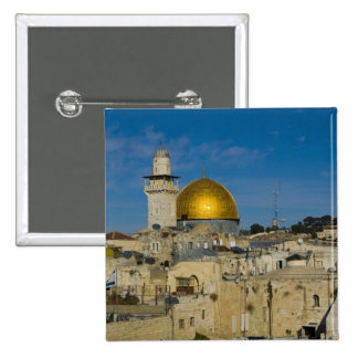 Israel, Jerusalem, Dome of the Rock Button