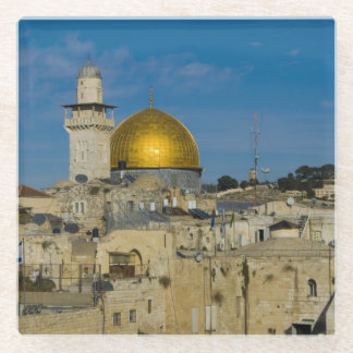 Israel, Jerusalem, Dome of the Rock Glass Coaster