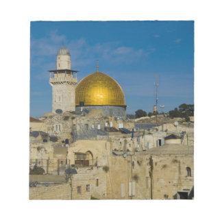 Israel, Jerusalem, Dome of the Rock Notepad