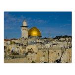 Israel, Jerusalem, Dome of the Rock Postcard
