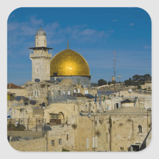 Israel, Jerusalem, Dome of the Rock Square Sticker