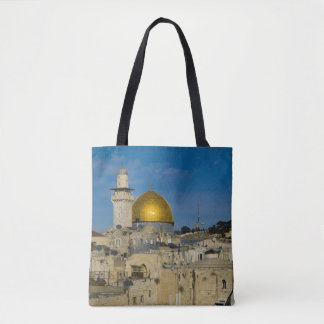 Israel, Jerusalem, Dome of the Rock Tote Bag