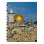 Israel, Jerusalén, bóveda de la roca Libreta Espiral