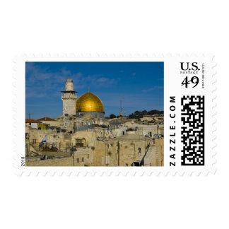 Israel, Jerusalén, bóveda de la roca Estampilla