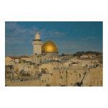 Israel, Jerusalén, bóveda de la roca Impresiones En Madera