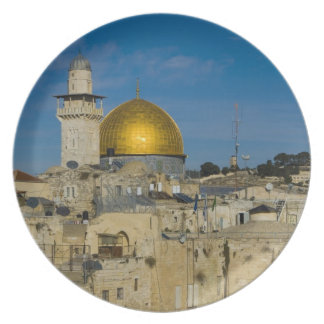 Israel, Jerusalén, bóveda de la roca Platos De Comidas