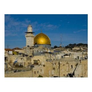 Israel, Jerusalén, bóveda de la roca Postal
