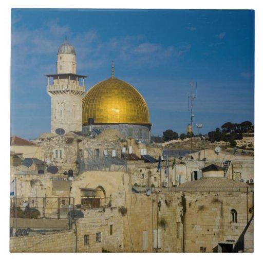 Israel, Jerusalén, bóveda de la roca Teja