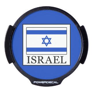 Israel LED Window Decal