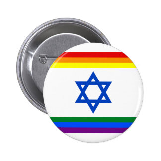 Israel LGBT Pride Button
