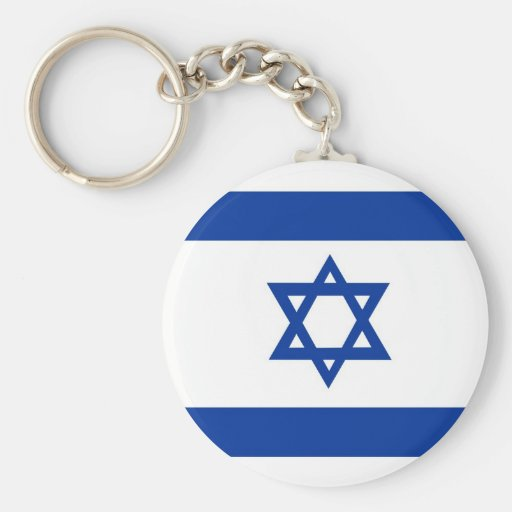Israel Llavero Redondo Tipo Pin