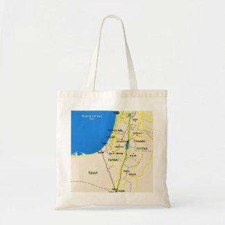 Israel Map tote bag
