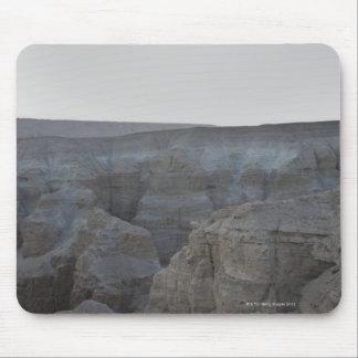 Israel, mar muerto, formaciones de roca mouse pad