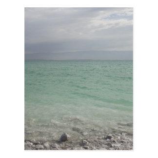Israel, mar muerto, paisaje marino postales