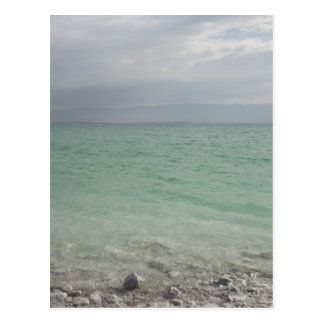 Israel mar muerto paisaje marino tarjeta postal