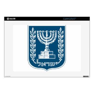 "Israel National Emblem 15"" Laptop Decal"