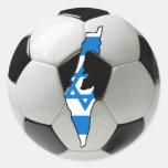 Israel national team round sticker