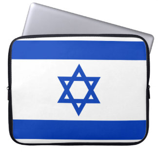 Israel National World Flag Laptop Sleeve