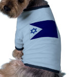 Israel Naval Ensign Pet Clothes