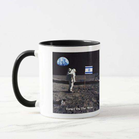 Israel On The Moon Mug