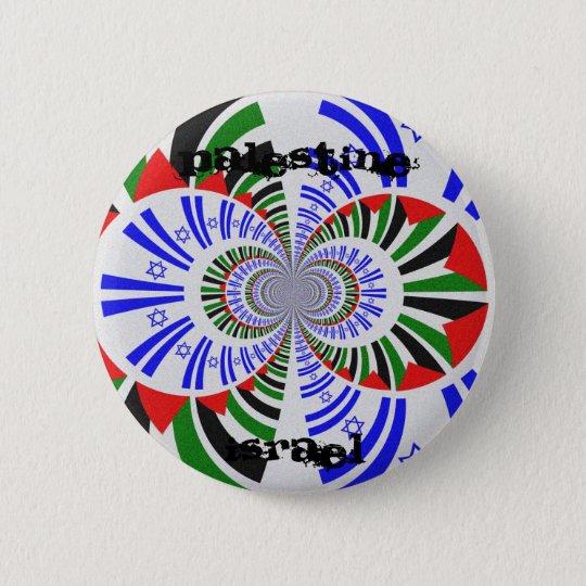Israel & Palestine Pinback Button