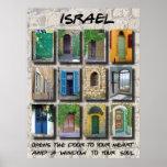 Israel - puertas y ventanas poster
