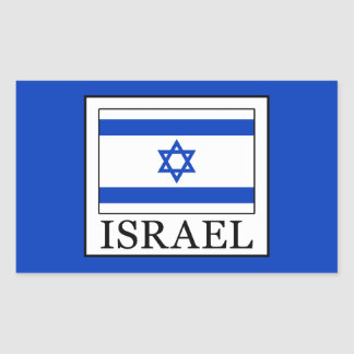 Israel Rectangular Sticker