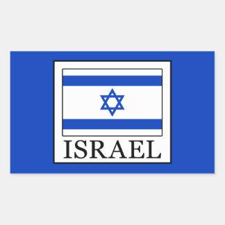 Israel Rectangular Sticker