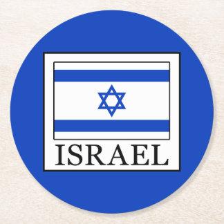 Israel Round Paper Coaster