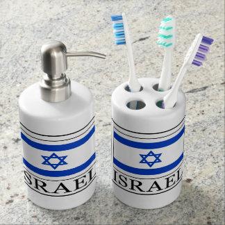 Israel Soap Dispenser & Toothbrush Holder