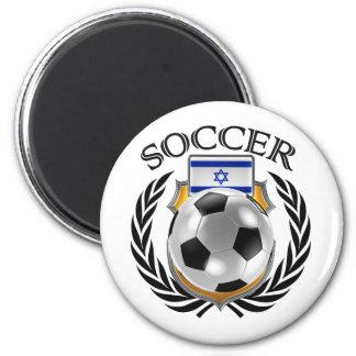 Israel Soccer 2016 Fan Gear 2 Inch Round Magnet
