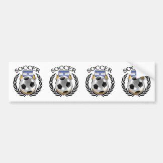 Israel Soccer 2016 Fan Gear Bumper Sticker
