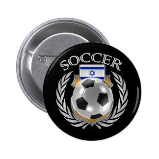 Israel Soccer 2016 Fan Gear Button