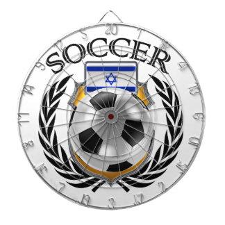 Israel Soccer 2016 Fan Gear Dartboard With Darts