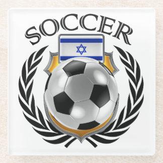 Israel Soccer 2016 Fan Gear Glass Coaster