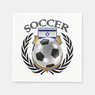 Israel Soccer 2016 Fan Gear Napkin