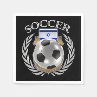 Israel Soccer 2016 Fan Gear Paper Napkin