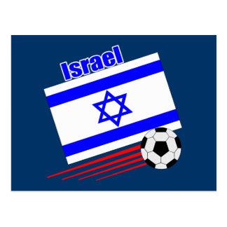 Israel Soccer Team Postcard