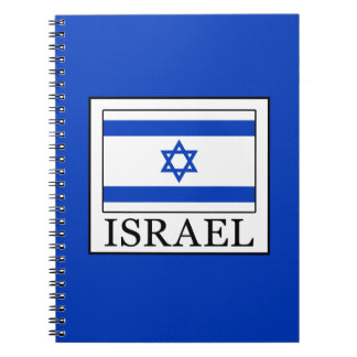 Israel Spiral Notebook