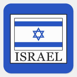 Israel Square Sticker