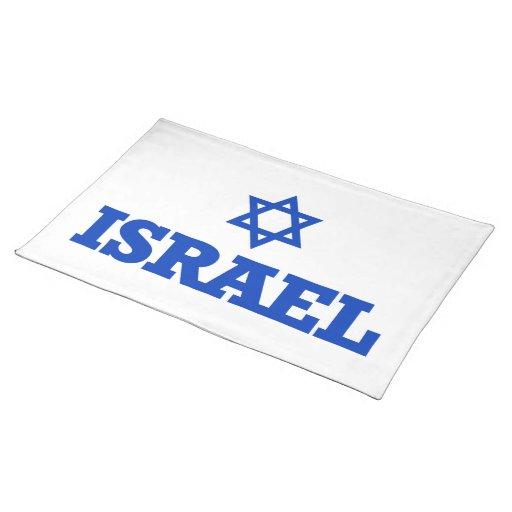 Israel Star of David Cloth Placemat