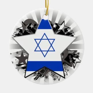 Israel Star Christmas Tree Ornaments